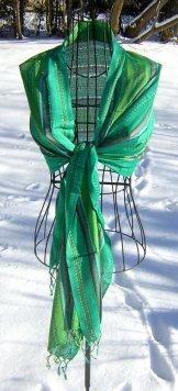 Scarf - Woven - Emerald