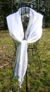 Scarf - Threads - White