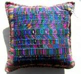 Huipil Pillow -  Blue Pattern ***SOLD***