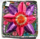 Embroidered Pillow - Single Flower 5 ***SOLD***