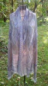 Bamboo Shawl - Aztec Dawn