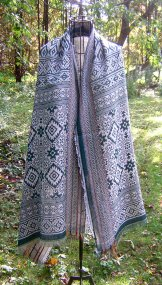 Bamboo Shawl - Scandinavian Green