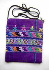 Pocket Bag 2 Zipper - Mayan People