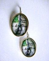 Paris Earrings - Oval Silver
