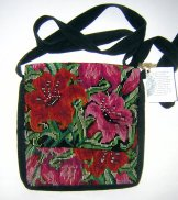 Huipil Tapestry Bag - Chichicastenango Lily 2