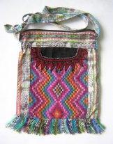 Huipil Bag -  Med Square Chichicastenango Zigzag 4