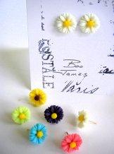 Daisy Stud Earrings - Assorted