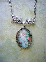 Dove Necklace-Silver