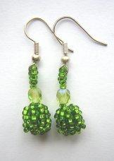 Droplet Earrings - Spring Green