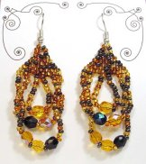 Triple Loop Earrings - Gold