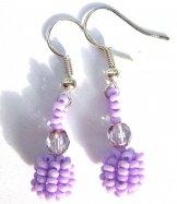 Droplet Earrings - Lavender