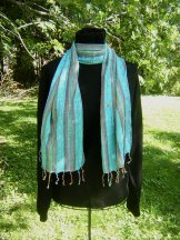 Skinny Scarf - Fiesta - Turquoise