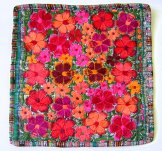Embroidered Pillow - Flowers 10  ***SOLD***