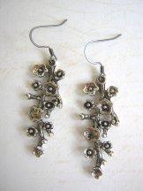 Flower Spray Earrings