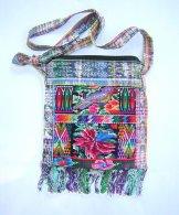Huipil Bag -  Small Square Chichicastenango  Bird Mosaic ***SOLD***