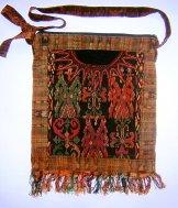 Huipil Bag -  Large Square Chichicastenango   Symbols ***SOLD***