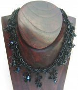 Ivy Necklace - Black