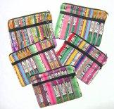 Mayan Corte Two Zipper Pouches - Cosmetics or Pencil Case