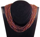 Classic 24 Strand Necklace - Sunset Slick