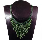 Seaweed Necklace - Assorted Green