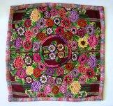 Huipil Pillow - Patzun Flowers 4 ***SOLD****