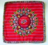 Huipil Pillow Cover - Patzun Bright Red ***SOLD***