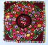 Huipil Pillow -  Patzun Pansies ***SOLD***