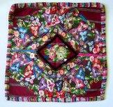 Huipil Pillow -  Patzun Flowers 3 ***SOLD***