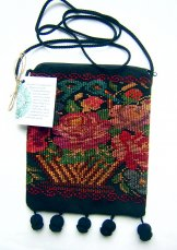 Huipil - Pocket Bag Flower Basket ***SOLD***