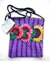 Huipil - Pocket Bag Violet 3 ***SOLD***