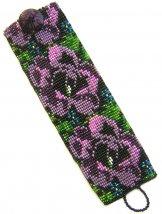 Tapestry Rose Lilac ArtCuff