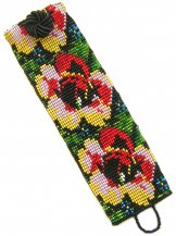 Tapestry Rose Tropical ArtCuff