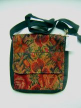 Huipil Tapestry Bag - Chichicastenango Garden 3 ***SOLD***