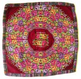 Huipil Cushion Cover - Tapestry Rose ***SOLD***