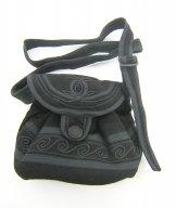Mont Royal Little Slouch Bag - Black