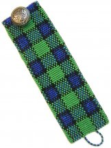 Black Watch Plaid ArtCuff