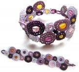 Byzantine Bracelet - Lilac