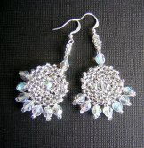 Byzantine Earrings - Silver Shine
