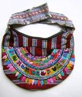 Huipil Crescent Bag - Patzun  Calendar ***SOLD***