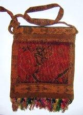 Huipil Bag -  Medium Square Chichicastenango Rust Rose 8
