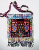 Huipil Bag - Medium Square Chichicastenango  Symbols 2 ***SOLD***