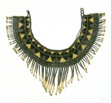 Cleo Collar - Bronze, Gold and Black