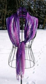 Scarf - Confetti - Purple
