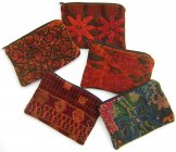 Assorted Cosmetics Huipil Pouches