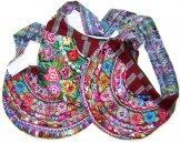Assorted Huipil Crescent Bags - Patzun