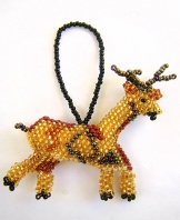 Christmas Ornament or Keychain -Deer