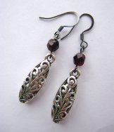 Filigree Dusk Earrings