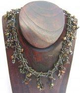 Ivy Necklace - Bronze