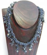 Ivy Necklace - Pewter