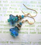 Lily Earrings - Turquoise